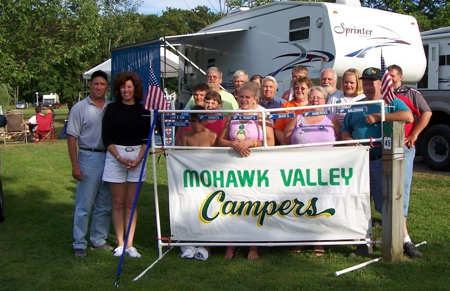Some Members of the Mohawk Valley Campers